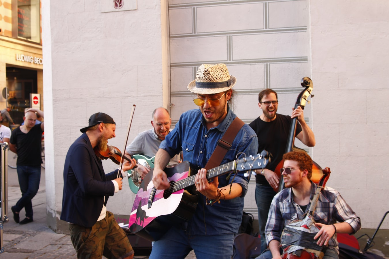 Picture of a group of musicians